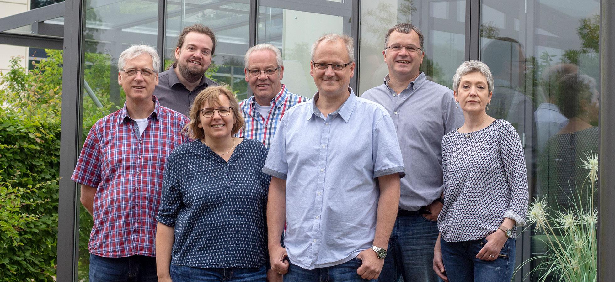Das Bild zeigt das Team der KKP Soft-Ing.team GmbH & Co. KG für Wintergarten und Terrassendach Software